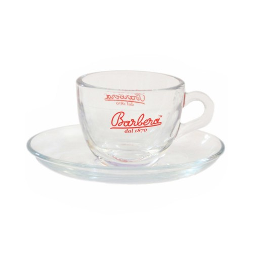 Barbera šálek espresso sklo 70 cc