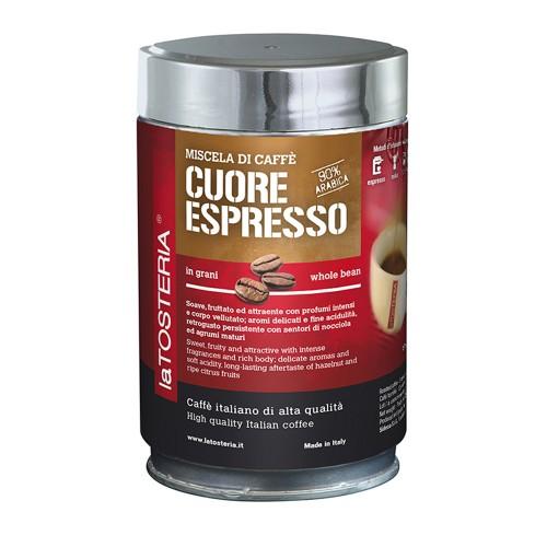 Cuore espresso 90% - zrnkovákáva 250g