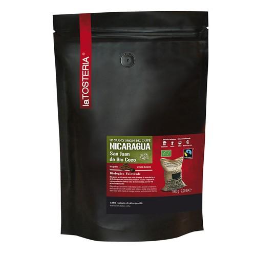 Nicaragua - 100%A  zrnková káva  BIO/Faitrade