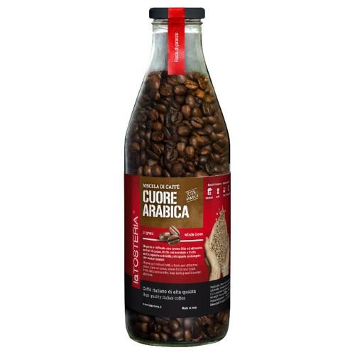 LaTosteria Cuore arabica 100% - zrnková káva 350g