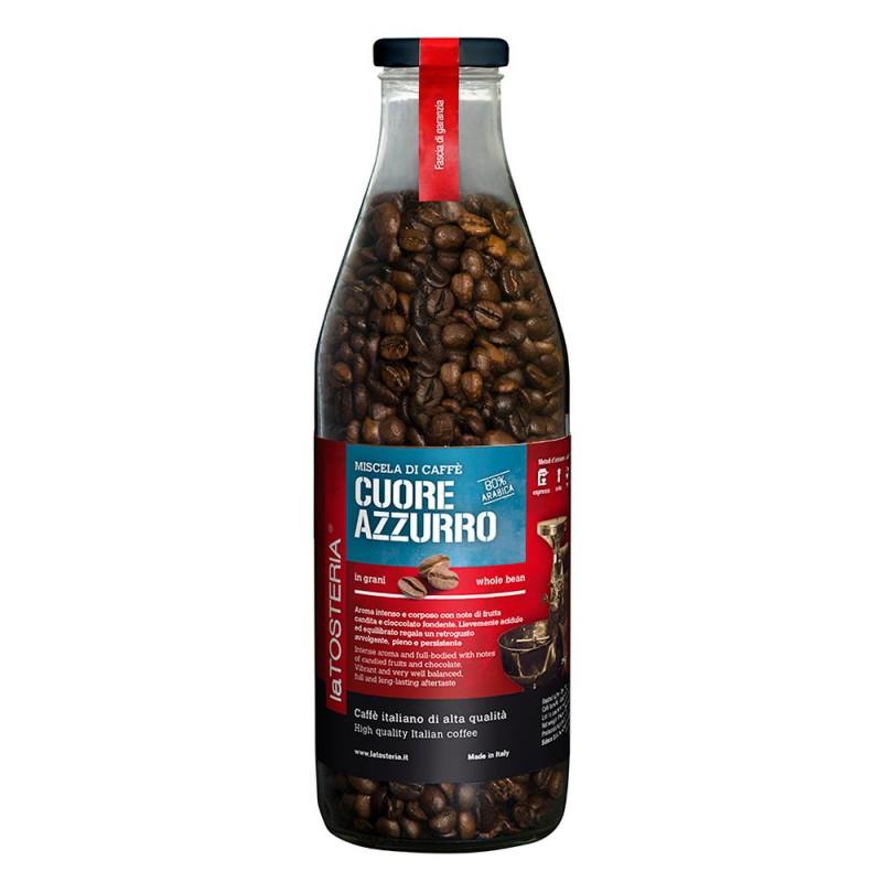 Cuore Azzurro 80% - zrnková káva 350g