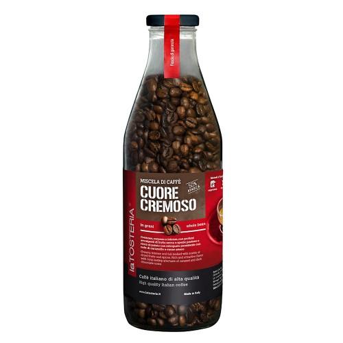 LaTosteria Cuore cremoso 50% - zrnková káva 350g