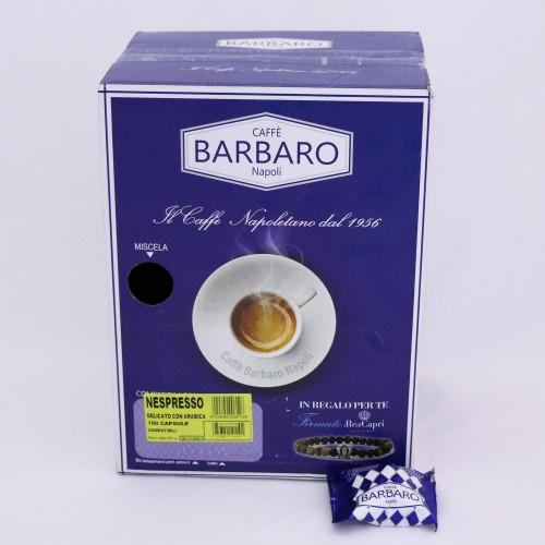 Kaffe Barbaro kapsle pro Nespresso® - delicato arabica 100x1