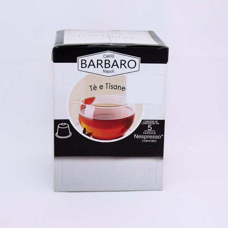 Čaj Barbaro kapsle Nespresso® -te verde 5x20