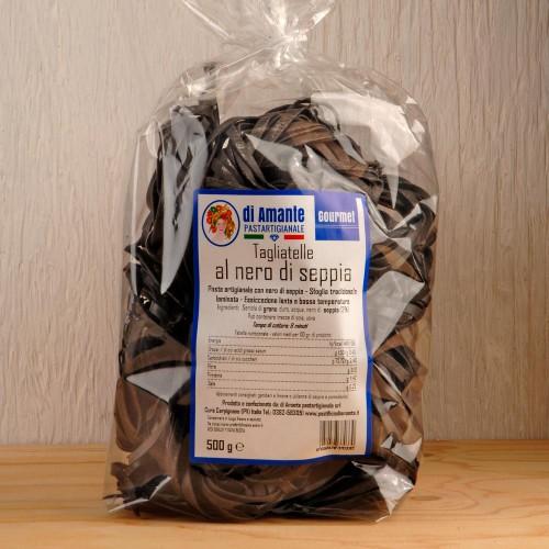 TAGGLIATELLE diAmante -černá sepia -500g